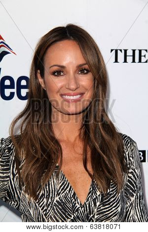 BODHILOS ANGELES - APR 22:  Catt Sadler at the 8th Annual BritWeek Launch Party at The British Residence on April 22, 2014 in Los Angeles, CA