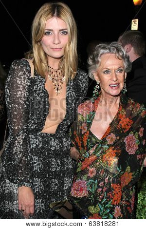 BODHILOS ANGELES - APR 22:  Mischa Barton, Tippi Hedren at the 8th Annual BritWeek Launch Party at The British Residence on April 22, 2014 in Los Angeles, CA