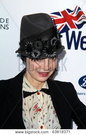 BODHILOS ANGELES - APR 22:  Toni Basil at the 8th Annual BritWeek Launch Party at The British Residence on April 22, 2014 in Los Angeles, CA