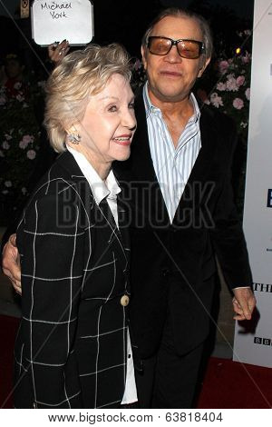 BODHILOS ANGELES - APR 22:  Patricia McCallum, Michael York at the 8th Annual BritWeek Launch Party at The British Residence on April 22, 2014 in Los Angeles, CA