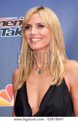 LOS ANGELES - APR 22:  Heidi Klum at the
