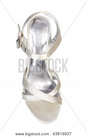 High Heel In Silver