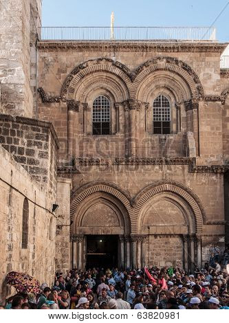 Good Friday In Jerusalem