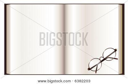 Libro y la lente