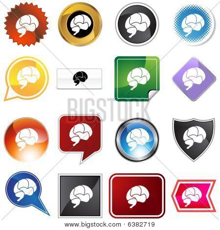 Conjunto de variedad de cerebro
