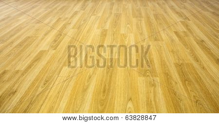 perspective flat empty wooden floor