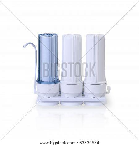 Water filter tubes