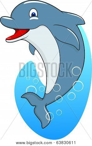 Standing Dolphin
