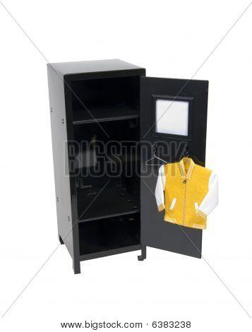Letterman Jacket In A Locker