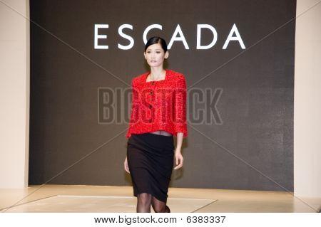 Chinese Models In Shenzhen Fashion Week