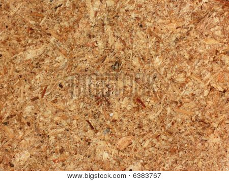 Chipboard Texture Close-up