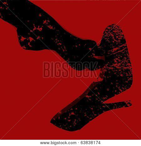 Grunge Ankle