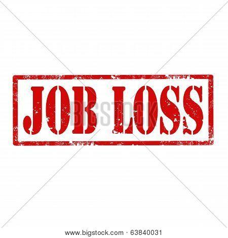 Job Loss-stamp