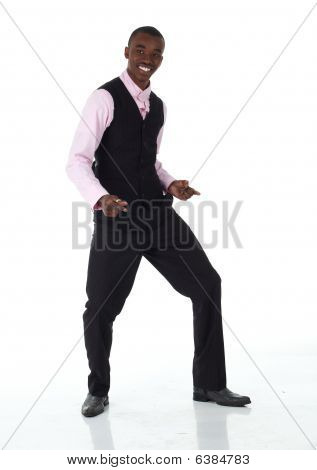 Empresário Africano preto