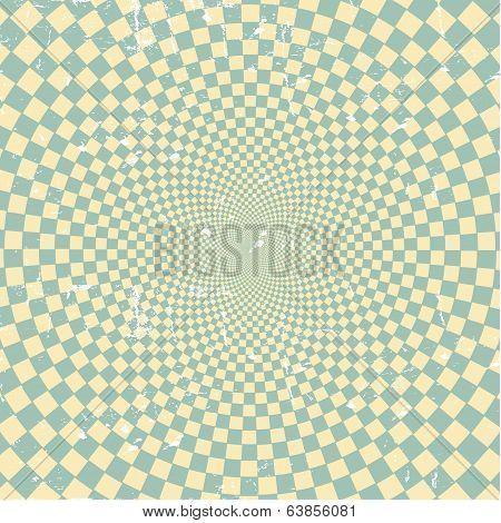 Grunge Retro  hypnotic background.