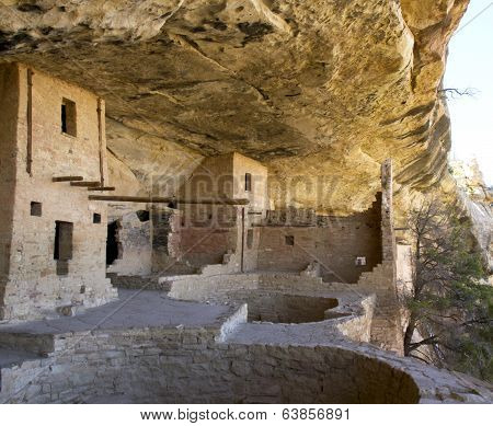 Balcony House in Mesa Verde National Park