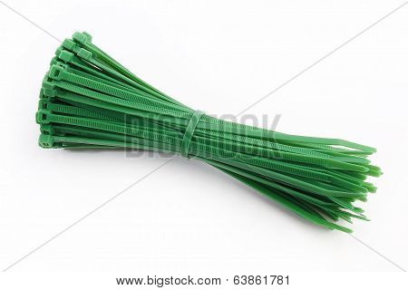 Cable Tie In Green