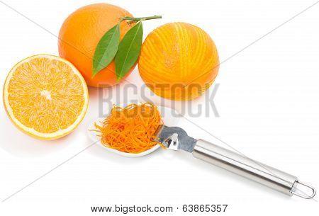 Oranges And Zest.