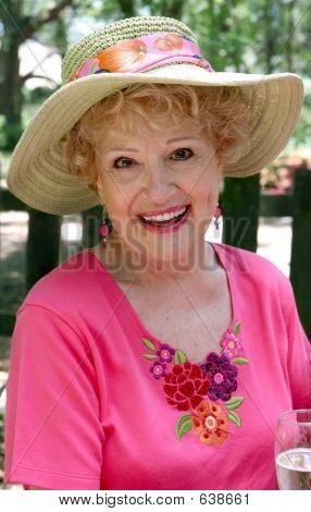 Senior Beauty - Happy