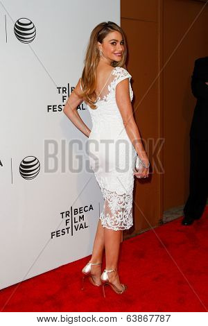 NEW YORK-APR 22: Actress Sofia Vergara attends the premiere of