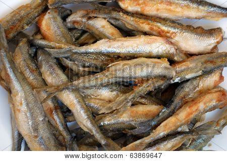 Fried smelt