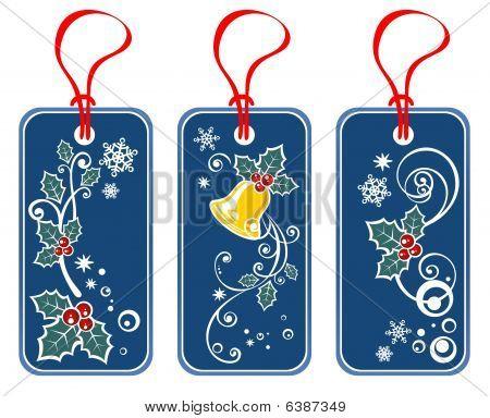 Christmas Price Tags Set