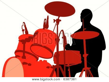 Rights for the drum set
