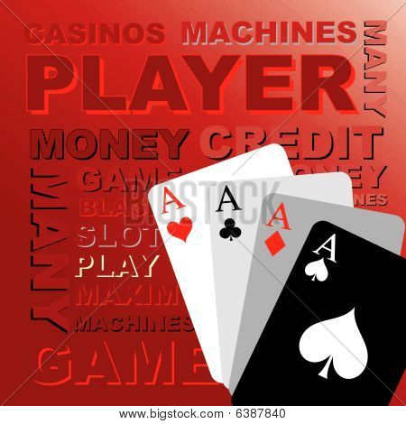Poker Cards, Vector Graphics