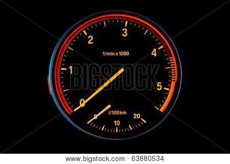 Diesel Car Tachometer
