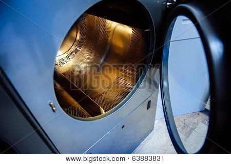 Washing Machine With Gold Plated Drum