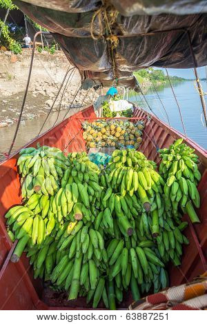 Fruit On A Boat