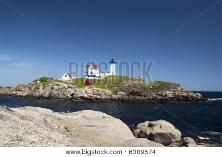 Nubble Light House