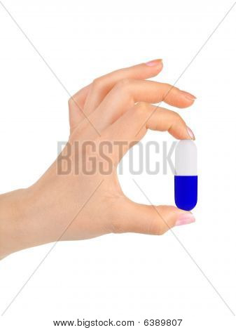 Hand And Pill
