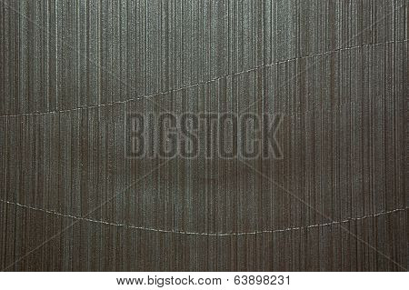 curve dark silver tone vinyl wall