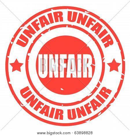 Unfair Stamp