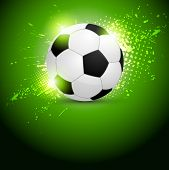 Постер, плакат: Soccer ball design