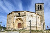 image of templar  - Veracruz medieval church ancient templar church in Segovia Spain - JPG