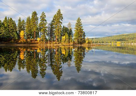 Autumn Dawn Reflections