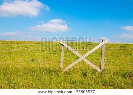 Fencing At Grassy Dike