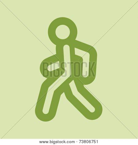Pedestrian Web Icon