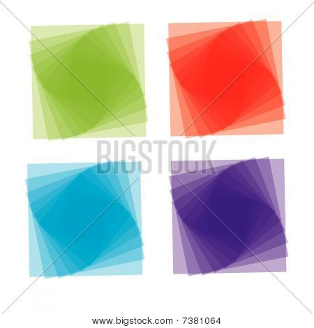 Cartoon style icon set. vector illustration