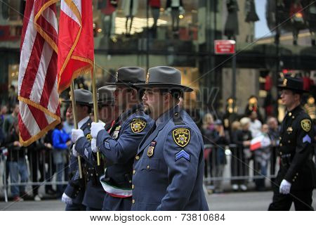 Nassau County Police Color Guard