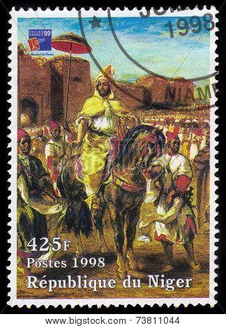 Painting By Eugene Delacroix, Muley Abd El Rahman