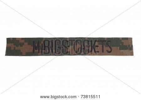 Marine Cadets Uniform Badge