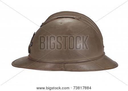 French Helmet Ww1 Period