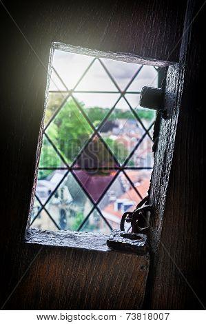 Medieval Tower Window