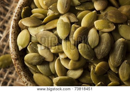 Raw Organic Pumpkin Pepita Seeds