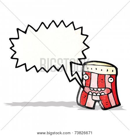 talking boxer shorts cartoon