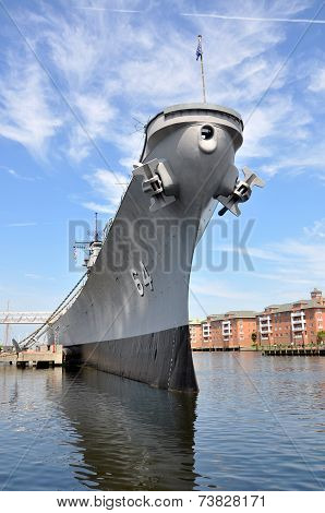 USS Wisconsin Battleship, Norfolk