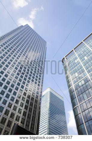 Corporate Buildings Towards The Sky
